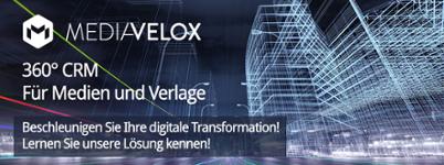 CRM für Medien und Verlage mit Mediavelox