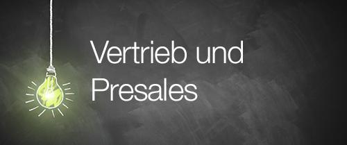 Stellenanzeigen Vertrieb / PreSales factory42