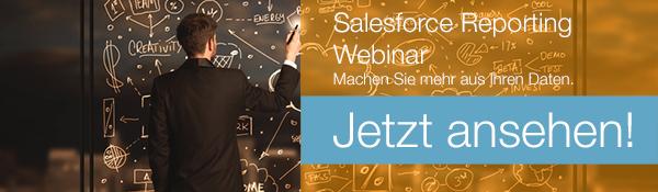 Jetzt Salesforce Reporting Webinar ansehen!