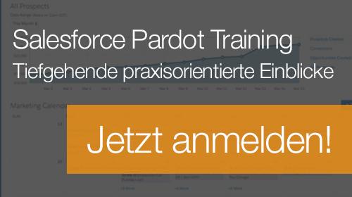 Salesforce Pardot Training - jetzt informieren