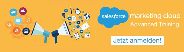 Marketing Cloud Advanced Training