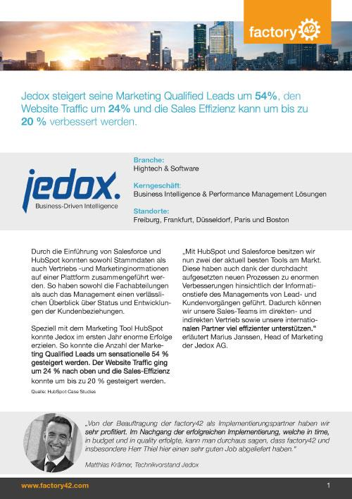 Jedox Referenz als PDF downloaden