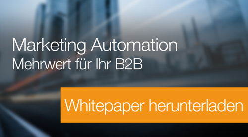 Jetzt e-Book Marketing Automation herunterladen