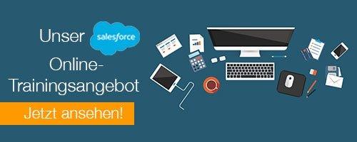 Salesforce Online-Trainings CTA