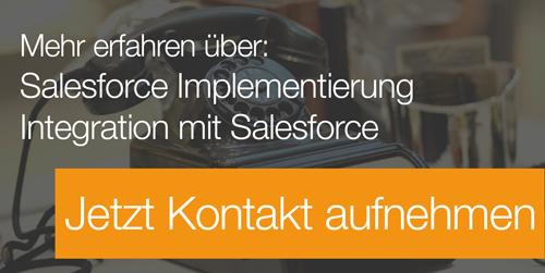 Mehr über Salesforce erfahren - jetzt Kontakt aufnehmen