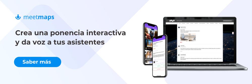 Ponencia interactiva para tu evento o congreso