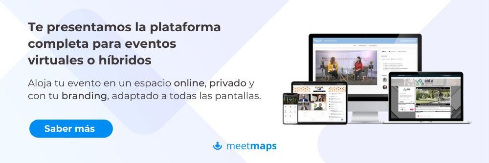 Meetmaps Eventos virtuales e híbridos