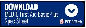 MEDIC BasicPlus Spec Sheet Download