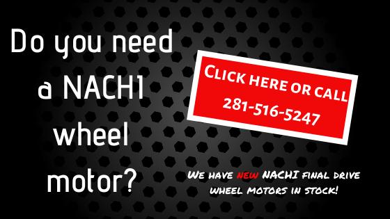 Do you need a Nachi wheel motor?