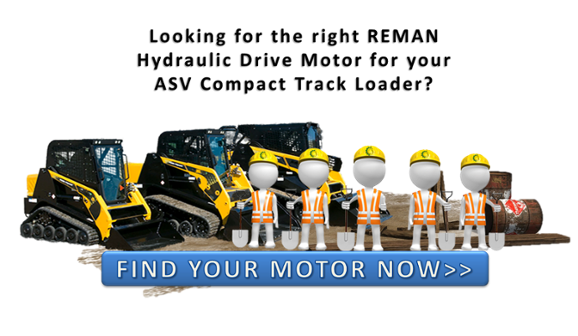 Track drives 3 mistakes heavy equipment owners make for Hydraulic track drive motor