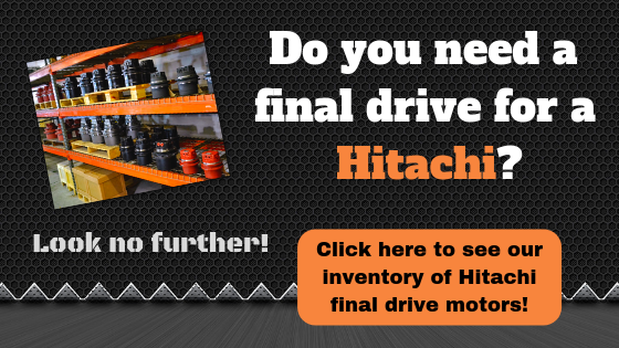 Do you need a final drive for a Hitachi