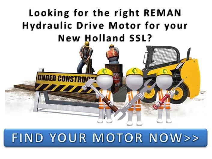 New Holland Skid Steer Loader Hydraulic Motors CTA 001
