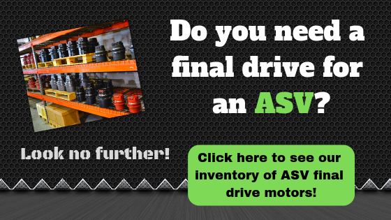Do you need a final drive for an ASV