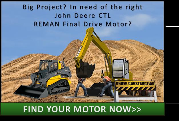 John Deere CTL Final Drive Hydraulic Motor CTA