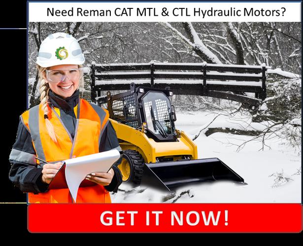 CAT Multi-Terrain Loader and Compact Terrain Loader Hydraulic Motors CTA