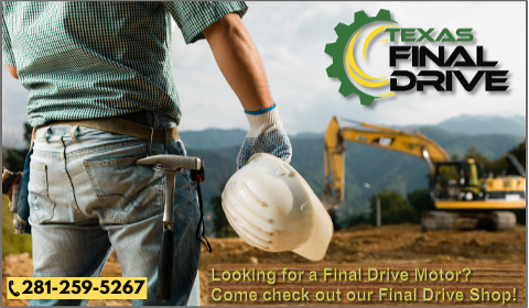 Visit the Final Drive Shop for all of your hydraulic final drive motor needs!