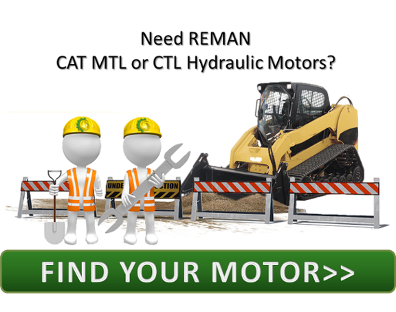 Reman CAT MTL or CTL Hydraulic Motors CTA