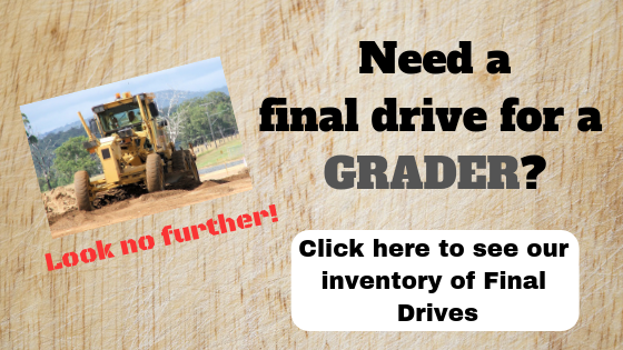 Need a final drive for a grader?