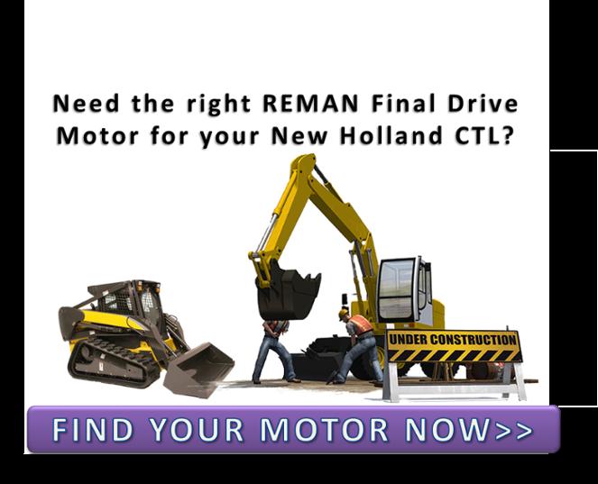 New Holland Compact Track Loader Hydraulic Motors CTA 001
