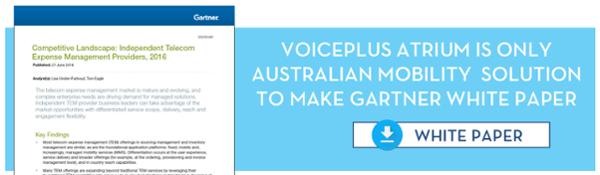VoicePlus only Australian solution in Gartner white paper