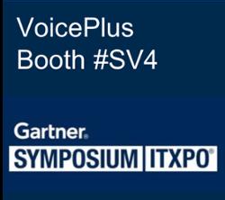 VoicePlus at Gartner Symposium 2018