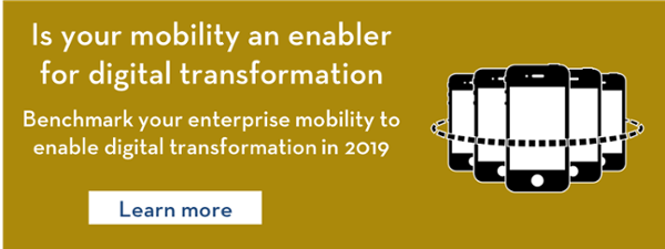 Mobile enables digital transformation