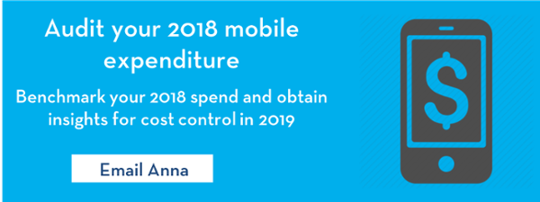 Audit your 2018 mobile expenditure