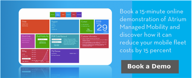 Book a demonstration of Atrium Managed Mobility SaaS