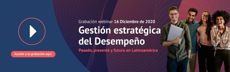 CTA Grabación webinar Gestión estratégica del Desempeño