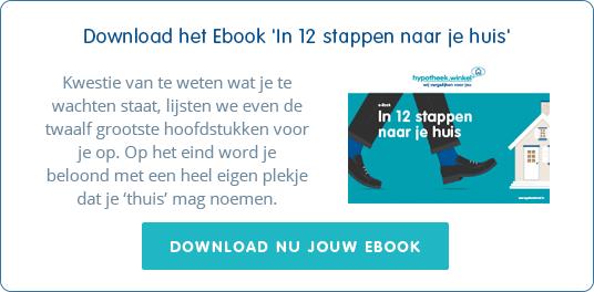DOWNLOAD het Ebook 'In 12 stappen naar je huis'  -  Kwestie van te weten wat je te wachten staat,   lijsten we even de twaalf grootste hoofdstukken voor je op.  -  Je krijgt het Ebook gratis en voor niets.
