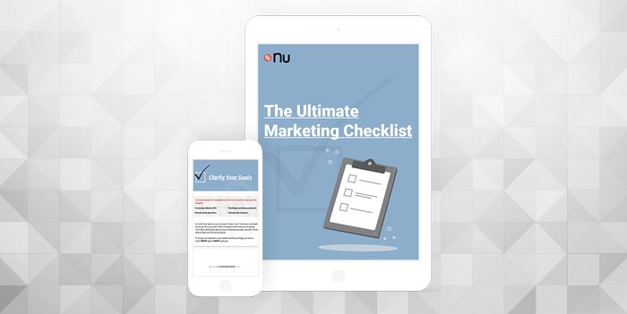 The Ultimate Marketing Checklist