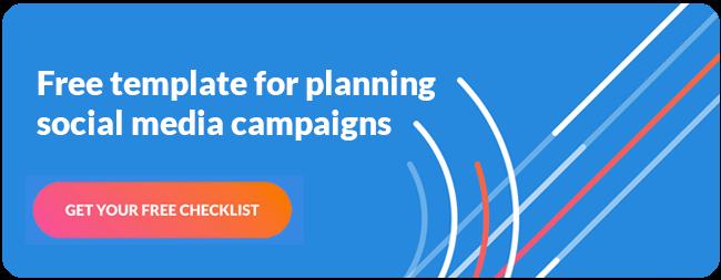 Free Social Media Campaign Checklist CTA