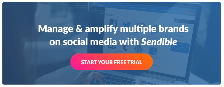 Start a free Sendible trial today