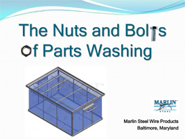 Parts Washing Baskets Guide