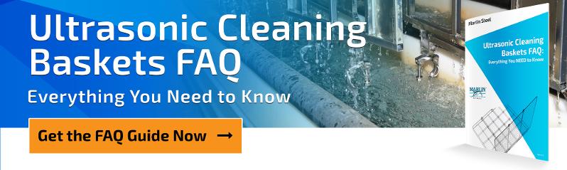 Marlin Steel Ultrasonic Cleaning Baskets FAQ Guide