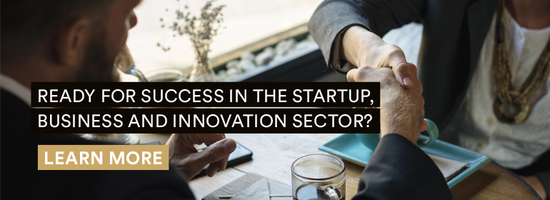 Ready for success in the start-up, business and innovation sector? Learn more.