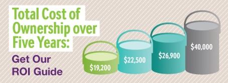Installing Specialty Paints saves you money over the years! Get the ROI Guide.