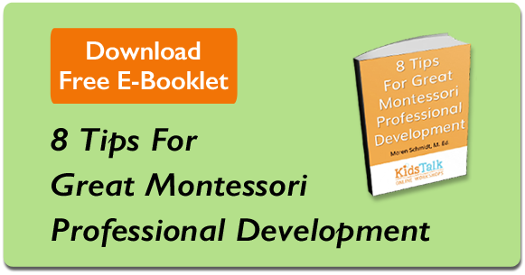 Montessori Professional Development Tips