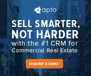 Request a demo of Apto CRM