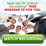 View Internal Storytelling Webinar Recording