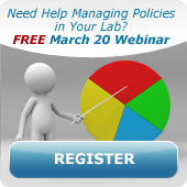 Register for Lab Policy Management webinar