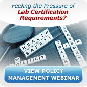 View Lab Policy and Procedure Webinar Recording