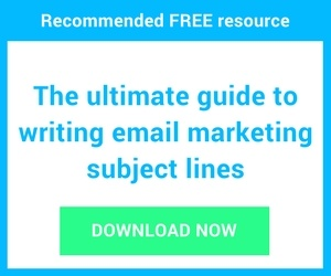 Download a free guide to writing subject lines for email marketing