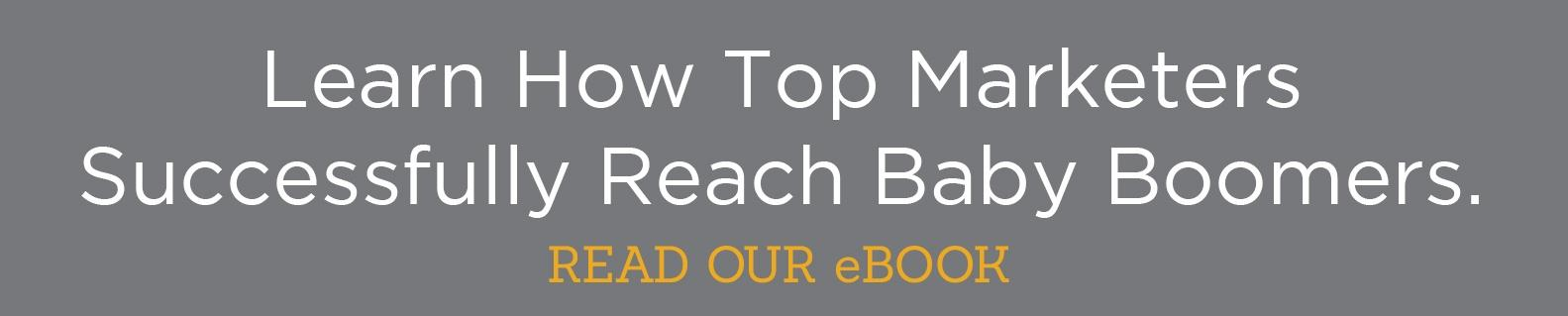 Marketing to Baby Boomers eBook