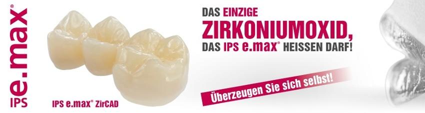IPS e.max ZirCAD - Zirkoniumoxid