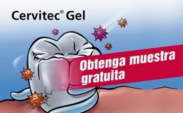 Obtenga muestra Cervitec Gel