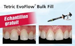 Echantillon gratuit Tetric EvoFlow Bulk Fill