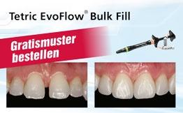 Gratismuster Tetric EvoFlow Bulk Fill