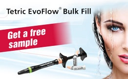Free Sample Tetric EvoFlow Bulk Fill