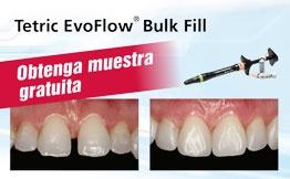 Muestra gratuita Tetric EvoFlow Bulk Fill